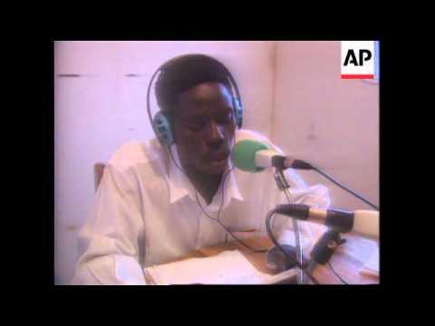 Zaire - Swiss Open Radio Station In Rwanda
