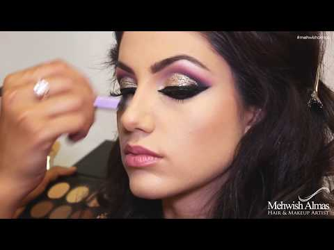 Arabic inspired Asian Bridal Makeup by Mehwish Almas
