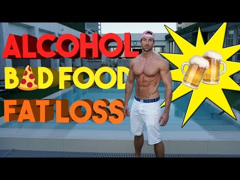 ALCOHOL & FAT LOSS | How To Recover FAST From ALCOHOL + BAD FOOD!