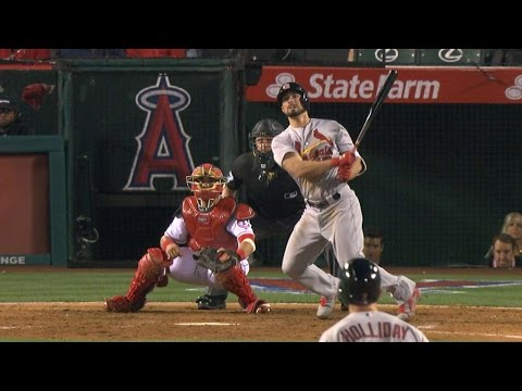 STL@LAA: Cardinals launch four home runs vs. Angels