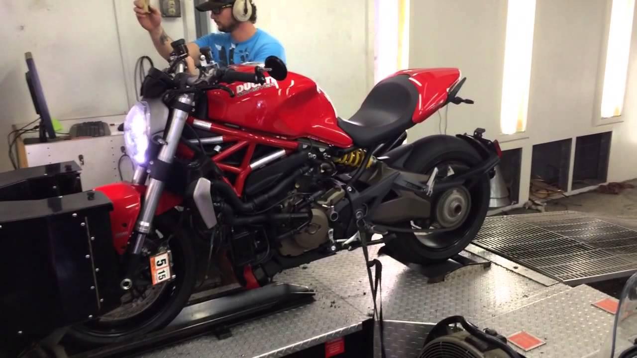 Monster 1200 Dyno 2014 Ducati Monster 1200 on