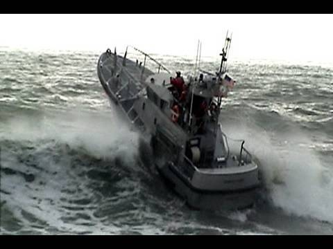 On November 16, 2009 A pair of 47' foot Coast Guard lifeboats were filmed doing rescue manuvers at the Checto River Bar entrance during rough seas. Wave heig...