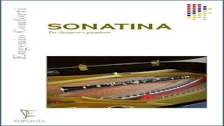 Sonatina per clarinetto e pianoforte - Eugenio Conforti
