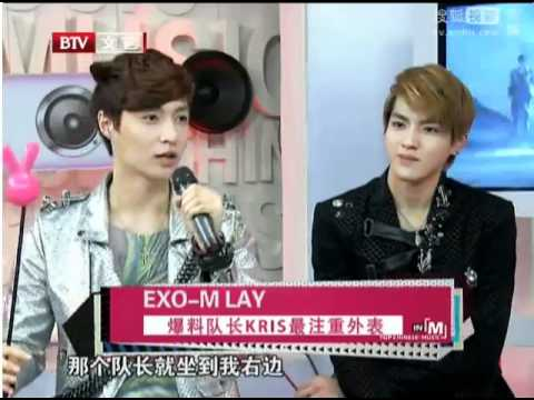 {ENG SUB} EXO-M reavealing game cut on Music Billboard 120425 Music Videos