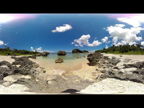 【360°VR】沖縄の海をVR撮影 Okinawa underwater VR360