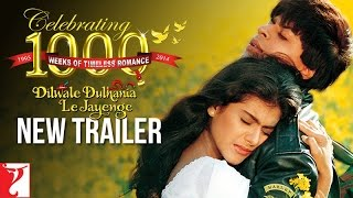 Dilwale Dulhania Le Jayenge NEW TRAILER Celebrating 1000 Weeks