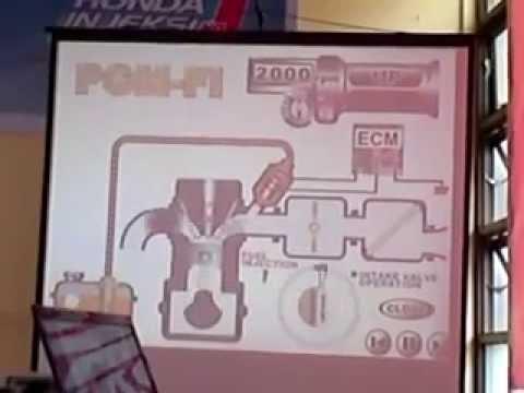 Sistem PGM-FI Honda Injeksi