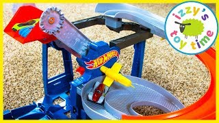 Cars for Kids! Hot Wheels Factory Raceway and Super Station! Fun Toy Cars for Kids!