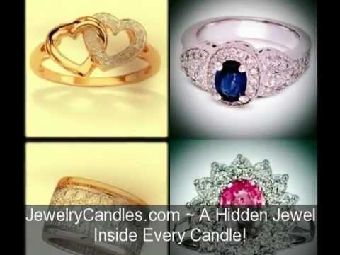 Jewelry in Candles Scents Jewelry Candles Natural Soy