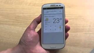 Google Android Galaxy S3 With Jelly Bean Hands On