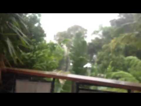 Tropical Cyclone Marcia arriving in Queensland