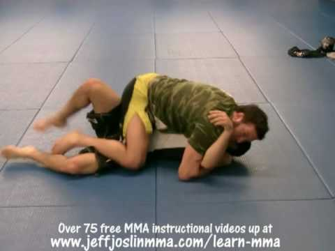 BJ Penn Guard Pass #5 of 5  (1/2 Guard) - Jeff Joslin Breaks down the BJJ technique Image 1