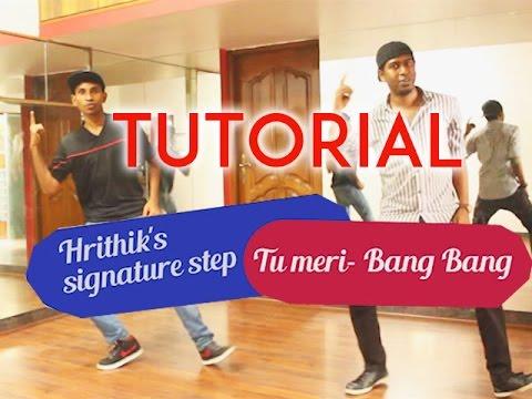 Learn Tu Meri Bang Bang | Hrithiks Dance Steps | Tutorial video