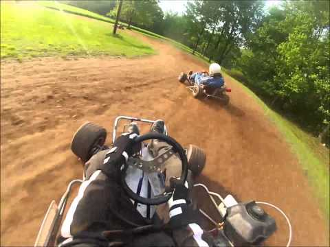 Backyard Dirt Go Karting 2013
