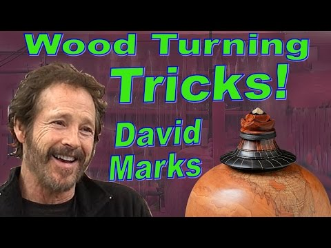 Woodturning Tricks & Tools - David Marks GIANT Hollow Vessel Presentation