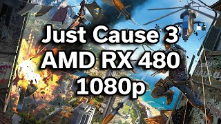Just Cause 3 - i5-6402p - RX 480 - $720 Gaming Computer - Benchmark