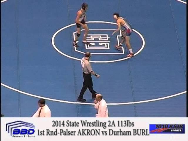 1st Round- Reid Palser AKRON