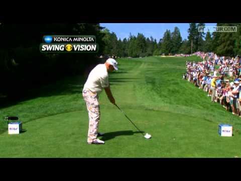 In the final round of the 2011 RBC Canadian Open, we take a closer look at some of the less well known elements of a John Daly swing on the par-4 11th hole.