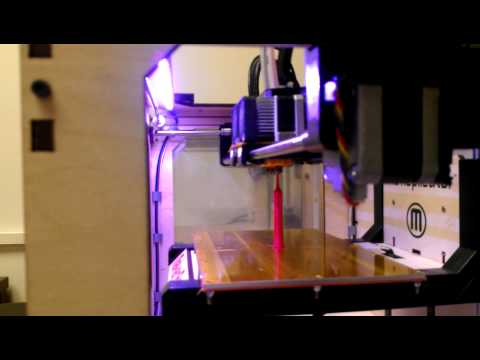 Lovejoy Library 3D Printer, Time Lapse