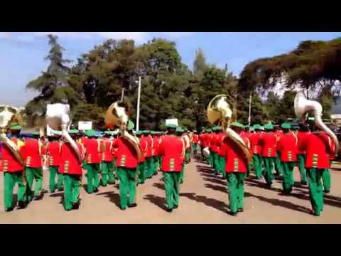 March Band In Addis Ababa