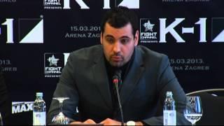 K1 FINAL 8 2013 Zagreb - Press Conference 2/6