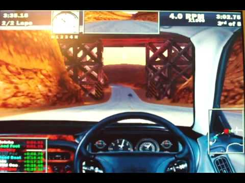 Need for Speed III: Hot Pursuit @ Vintage P233MMX with 3DFX Voodoo1