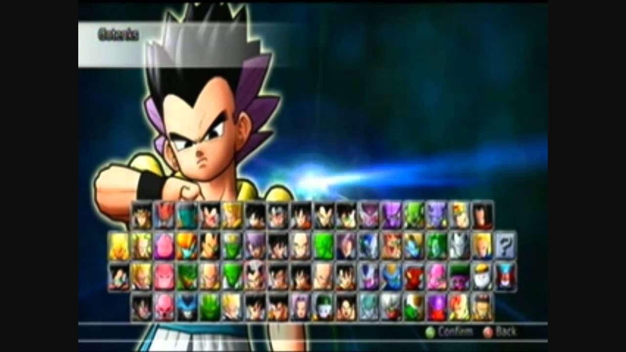 Dragon Ball Raging Blast 2 All Characters W Transformations Official Game YouTube