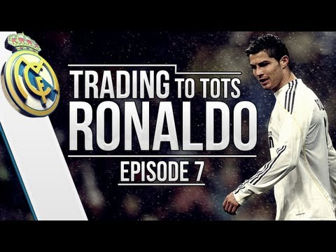 FIFA 13 | Trading to TOTS Ronaldo | Episode #7 (TRANSFERRED PROFIT!)