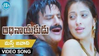 Adhinayakudu Full Songs - Mast Jawani Song - Balakrishna, Lakshmi Rai, Saloni