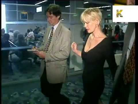 1996 footage of Paula Yates, Bob Geldof, Michael Hutchence
