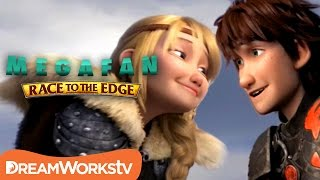 Hiccstrid Up Close & Personal   MEGAFAN: RACE TO THE EDGE