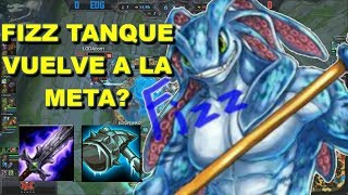 FIZZ TANQUE TOP OP??? Legue of Legends Gameplay en español