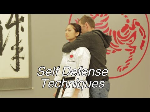 Women's Self Defense Techniques - Choke Hold From Behind Image 1