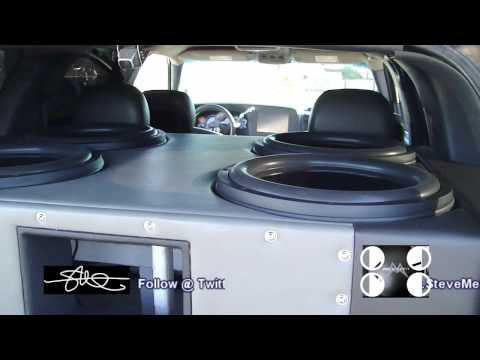 "Mrs. Meade+ SMD/AA 18"" Subwoofer = INSANE HAIRTRICK - 30,000 Watt System with WOOFER FLEX"