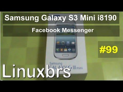 Samsung Galaxy S III Mini i8190 - Review - Facebook Messenger - PT-BR