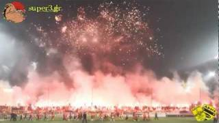 Aris vs paok 1-1 (2011/2012) ||  Welcome to Hell