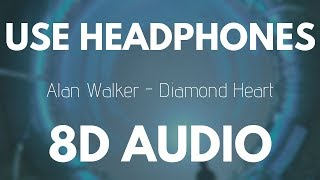 Alan Walker Diamond Heart 8d Audio