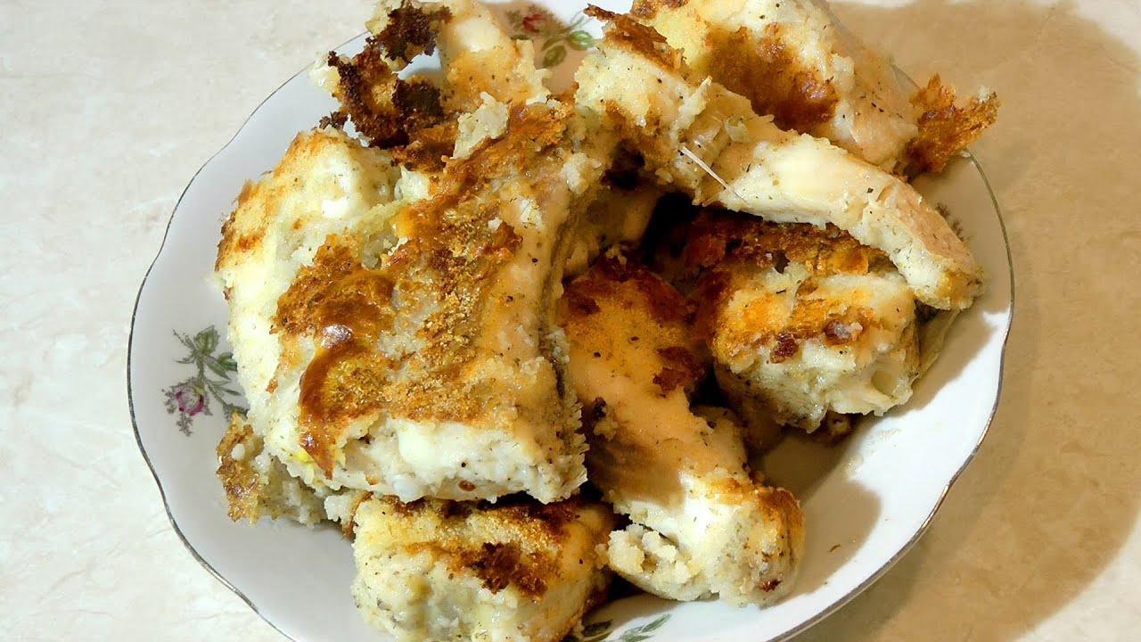 Жареная щука со сметаной на сковороде рецепт