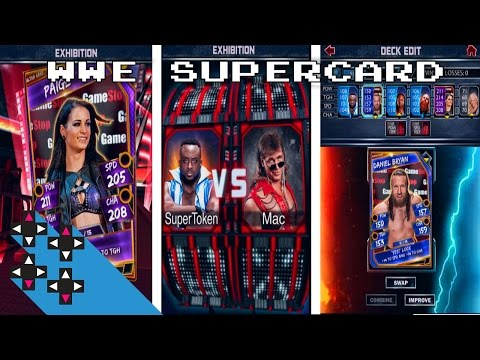 SUPERTOKENS IN ACTION & INTRO TO WWE SUPERCARD — UpUpDownDown Plays