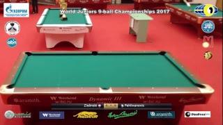 Day 3 World Juniors 9-ball Championship 2017 TV2