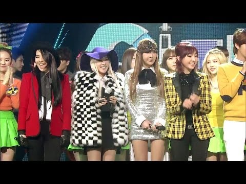 2NE1_1201_SBS Inkigayo_그리워해요(MISSING YOU)_No.1 of the week