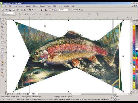 Corel Draw   Crop object from picture