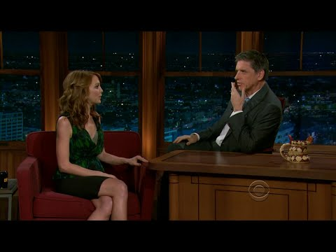 Late Late Show with Craig Ferguson 11/3/2010 Lewis Black, Jayma Mays, Dr  Dog