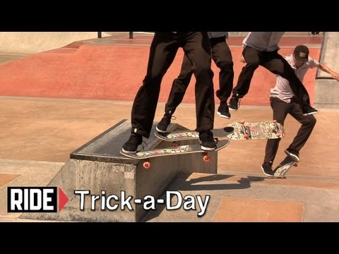 How-To Nollie Heel Noseslide With Anthony Schultz