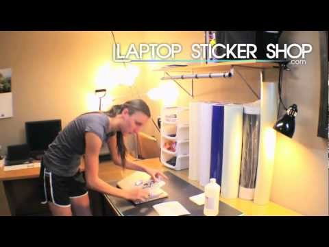 How To - Apply a Vinyl Macbook Laptop Decal Sticker