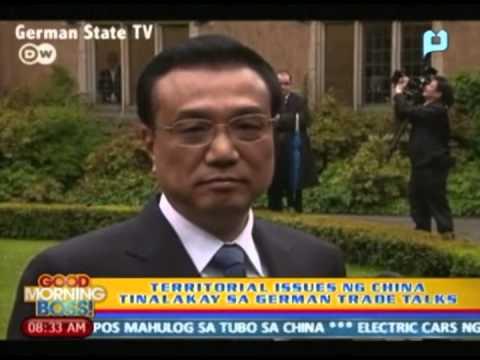 Connexions: Territorial issues ng China, tinalakay sa German trade talks