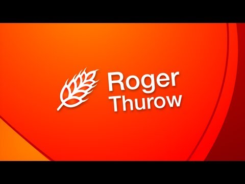 Roger Thurow &#8211; My Moment of Great Disruption | TEDxChange: Positive Disruption