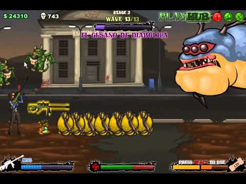 Tequila Zombies 2: Con Gusano Level 3 Part2 Final Boss El Gusano De Diabolica
