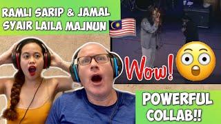 RAMLI SARIP FEAT JAMAL ABDILLAH - SYAIR LAILA MAJNUN   REACTION 🇲🇾 - Musik76