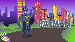 Batman Finger Family Nursery Rhyme for Children